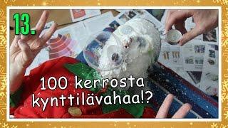 100 KERROSTA KYNTTILÄVAHAA!? | Haastekalenteri Luukku 13