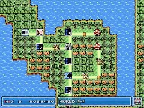My Super Mario Bros Game Master Game - World 1
