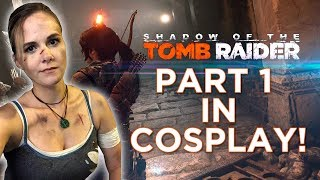 """Shadow of the Tomb Raider: PART 1 """"WHAT DID YOU DO LARA!?"""""""