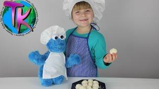 Конфеты Рафаэлло в домашних условиях Готовим вместе с детьми Простые рецепты Cookie monster