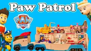 PAW PATROL Nickelodeon Paw Patrol Toys with Everest a Paw Patrol Video Review