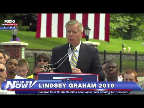 FNN: Lindsey Graham Announces He's Running for President