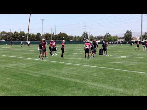 49ers 2013 OTAs - Week 3 drills