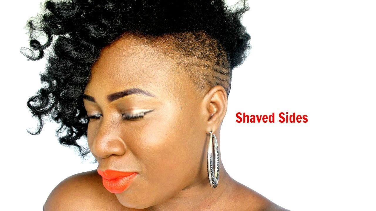 Shaved Sides With Cuban Twist Youtube
