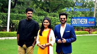 Anil Kapoor Sakshi Tanwar and Sikander Kher for 24 Season 2