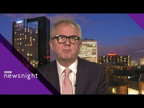 MP quits Labour: 'I couldn't look dad in the eye' INTERVIEW - BBC Newsnight