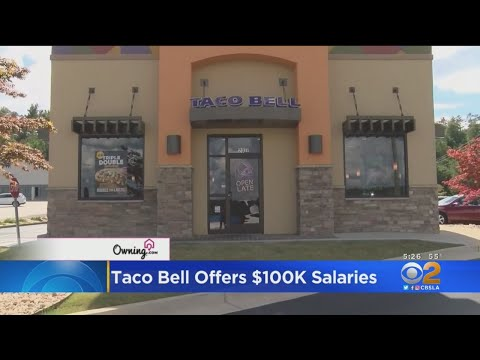 Theresarockface - Taco Bell Looking to Offer Managers a $100K Annual Salary