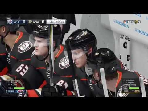 NHL® 18 Winnipeg Jets vs Anaheim Ducks