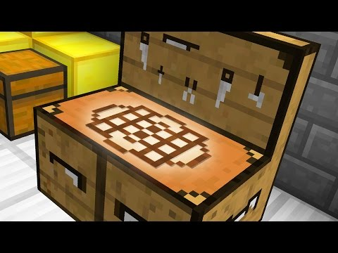 ADVANCED MINECRAFT CRAFTING TABLE