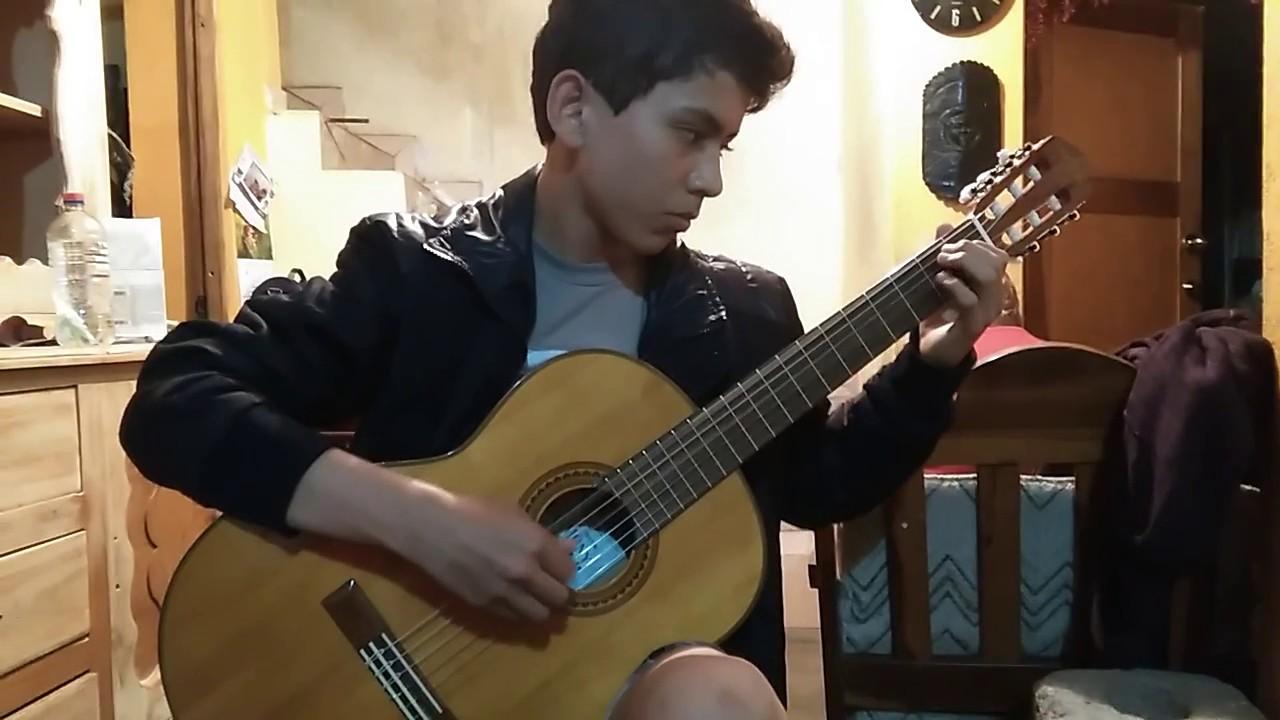 ALEJANDRO SILVA - guitarrista clasico - Milonga Argentina