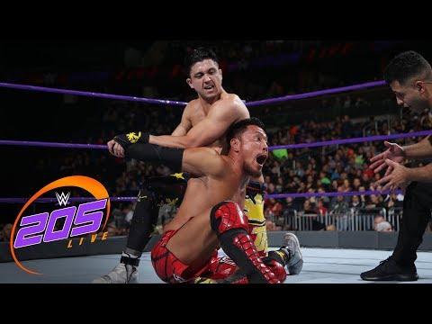 Akira Tozawa vs. TJP: WWE 205 Live, Jan. 2, 2018
