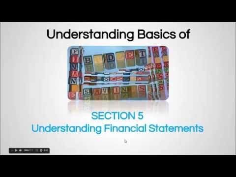Balance Sheet  - Finance For Non-Financial Personnel