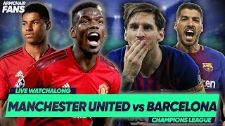 MANCHESTER UNITED 0-1 BARCELONA | SHAW OWN GOAL GIVES BARCA ADVANTAGE!