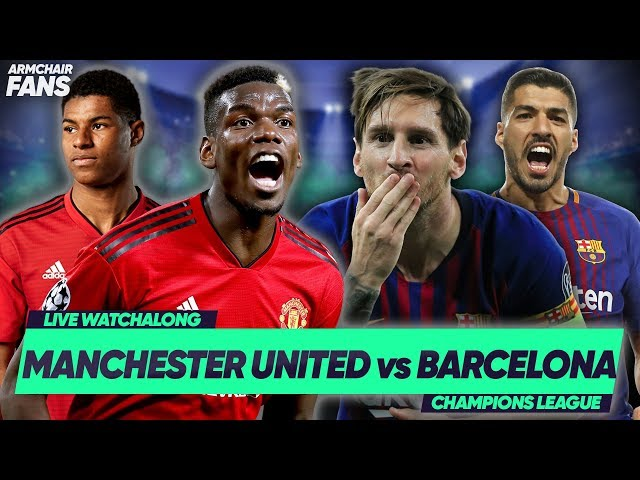 MANCHESTER UNITED 0-1 BARCELONA   SHAW OWN GOAL GIVES BARCA ADVANTAGE!