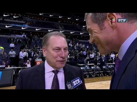 Tom Izzo Talks Tournament Victory Over Penn State