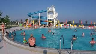 Der neue Pool in Campsite Kazela Medulin tws. mit Apeman TRAWO