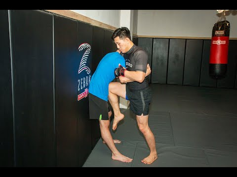 MMA Training - Using the Wall for Grappling and Striking with Rene Dreifuss