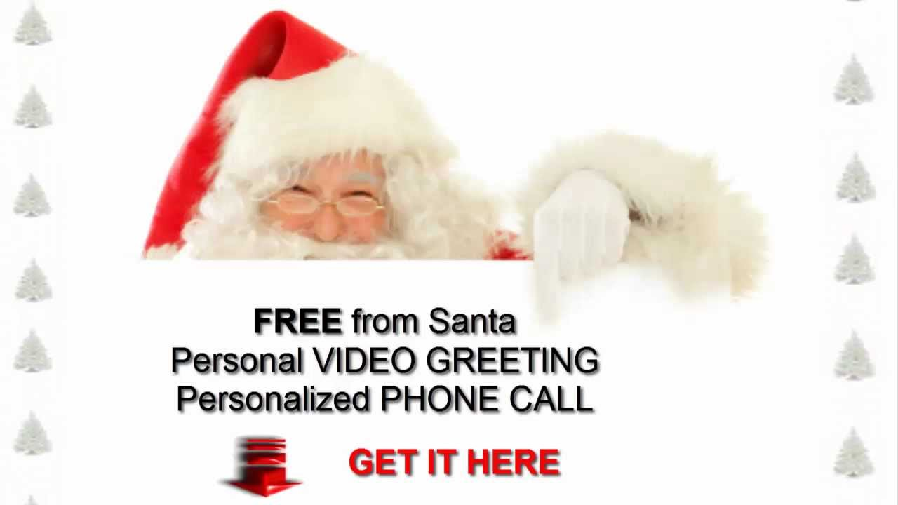 Free call from santa free personal video greeting youtube free call from santa free personal video greeting m4hsunfo Images