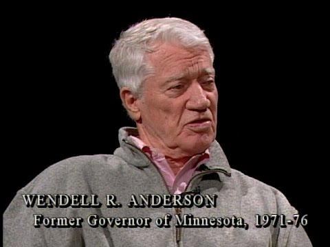 Wendell R. Anderson on Leadership (The Mary Hanson Show)