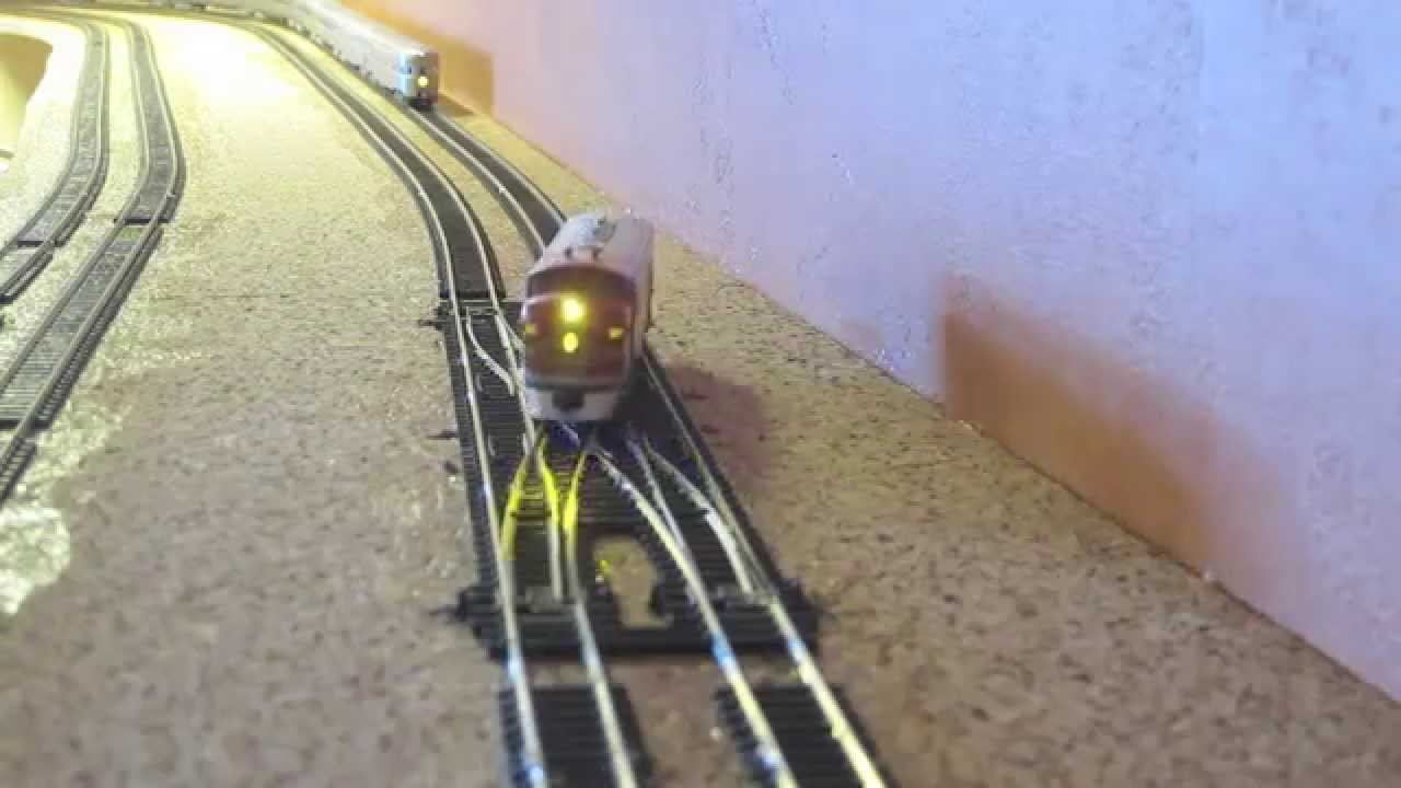hight resolution of wiring a double crossover for dcc youtube ho scale dcc track wiring