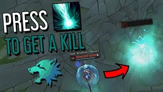 I KILLED A 100% HP LUX WITH ONE BUTTON, WTF?!?! PREDATOR KARTHUS WITH 1267 AP - S8 GAMEPLAY
