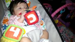 Learning with infantino soft blocks