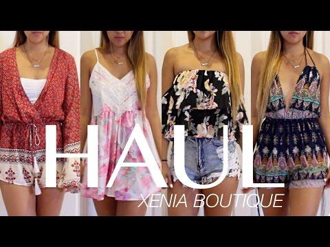 HAUL Xenia Boutique  | Australian fashion | MY FAVORITE ONLINE STORE