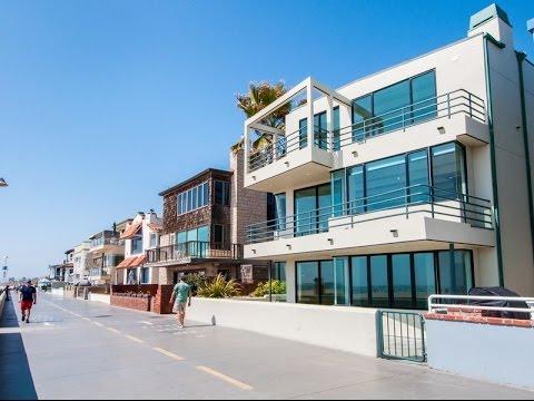 Waterfront Beach House in Hermosa Beach, California