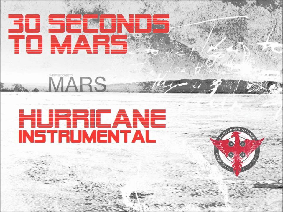 30 Seconds To Mars- Hurricane ( INSTRUMENTAL) HQ - YouTube
