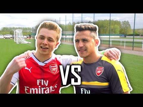 ChrisMD Vs ALEXIS SANCHEZ, HOLDING & ELNENY | Impossible Goal Line Shooting