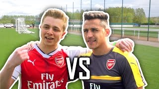 ChrisMD Vs ALEXIS SANCHEZ, HOLDING & ELNENY | Impossible Goal Line Shooting thumbnail