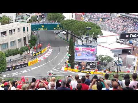 Formula 1 Monaco GP 2015 Secteur Rocher