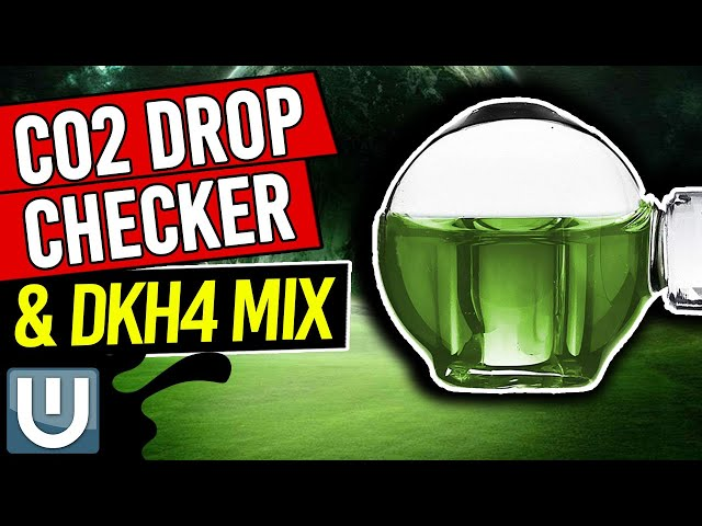 Co2 Drop Checker and Mixing 4DKH
