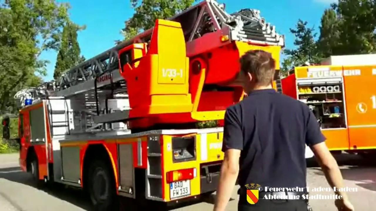 Feuerwehr Baden Baden Einsätze