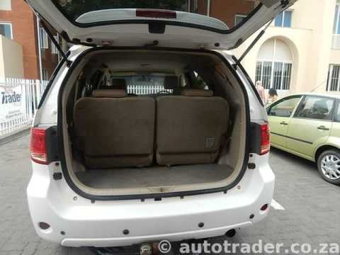 2008 TOYOTA FORTUNER 30 D4D 4X2 7 SEATER Auto For Sale On