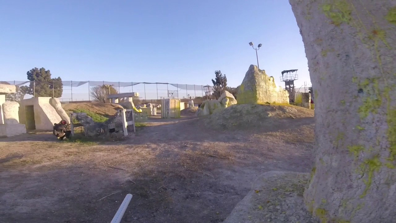 Paramount Pictures Hollywood Sports Paintball Park