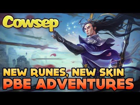 NEW MASTER YI SKIN, NEW RUNES - COWSEP'S PBE ADVENTURES