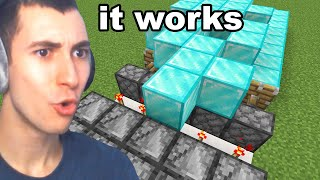 Testing Minecraft Glitches That Mojang Removed Forever