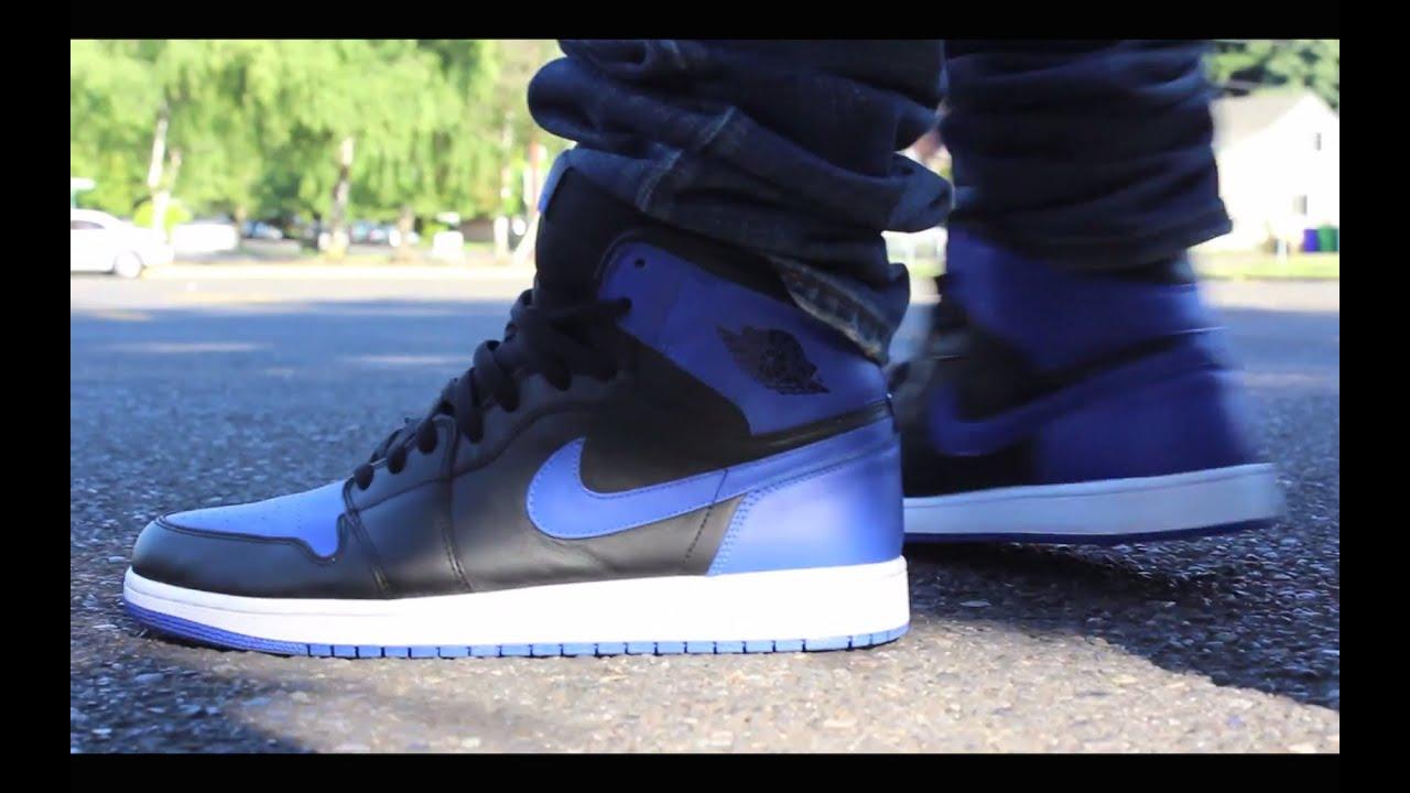 on sale 0cf25 bf3cc ... Sneaker Review With DjDelz HotOrNot - YouTube  jordan 6 rings metallic  silver lt grpht-white (3M)  Air Jordan 1 Royal 2013 Review w On Feet ...