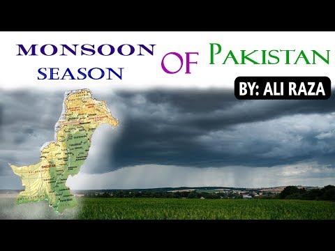 Monsoon Season Of Pakistan 2019   How Monsoon Formed   Pakistan Monsoon Weather Detail (Urdu/Hindi)