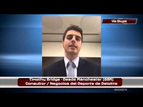 Entrevista con Tim Bridge acerca del Deloitte Football Money League en Paparazzi del Deporte | #113