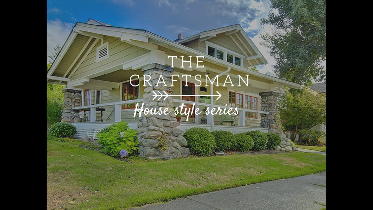 The Craftsman House Style Series By Joel Perry Of Indwell