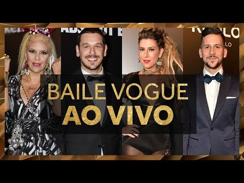 Assista Agora aos Famosos no Baile Vogue: Ao Vivo Direto de São Paulo