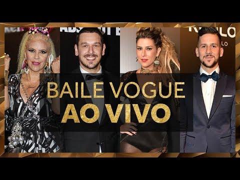 Assista aos Famosos no Baile Vogue na Transmissão Ao Vivo Direto de São Paulo