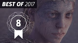 GameSpot's Best of 2017 #8 - Hellblade: Senua's Sacrifice