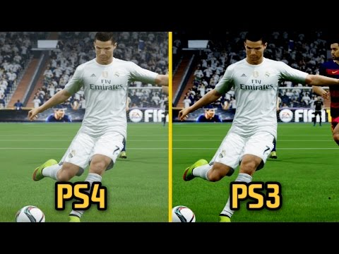 FIFA 16 - PS3 Vs PS4 Graphics And Gameplay Comparison