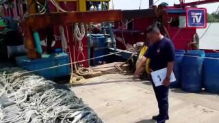 Nelayan parah ditetak di kepala