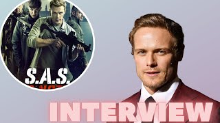 Interview With Outlander's Sam Heughan For Upcoming Film SAS: RED NOTICE