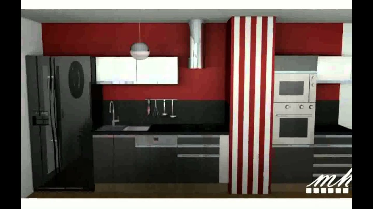 d corer une cuisine youtube. Black Bedroom Furniture Sets. Home Design Ideas