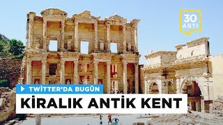 Efes Antik Kenti'nde skandal yemek organizasyonu | Twitter'da Bugün - 28 Haziran 2017
